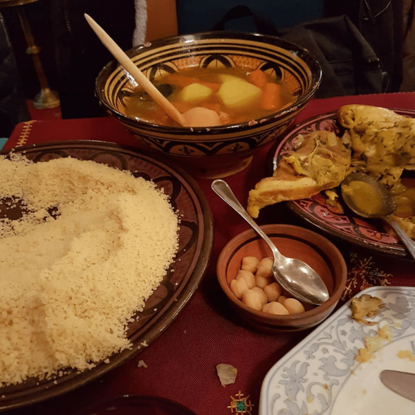 Couscous semoule